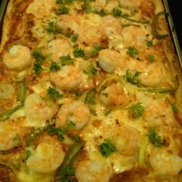 Super Simple Shrimp Pizza Recipe