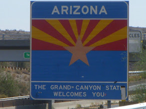 Photo: Now in Arizona -- no more California this trip