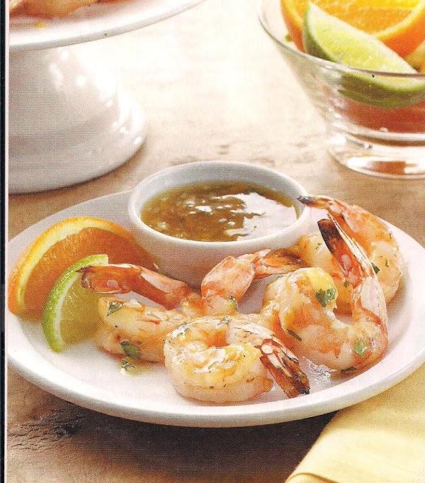 Cuban Glazed Shrimp With Citrus Rum Sauce Recipe