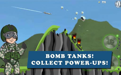 Télécharger Gratuit Carpet Bombing  APK MOD (Astuce) screenshots 1