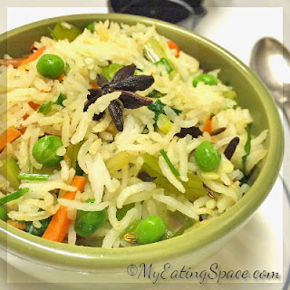 Vegetable Rice Pilaf Indian Recipes