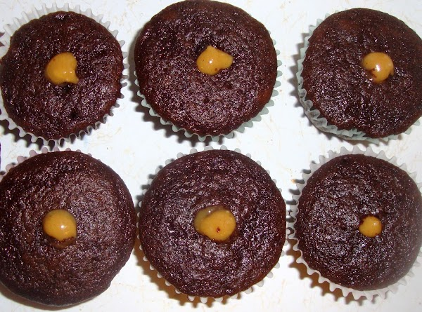 Use a long thin tip to fill cupcakes with filling