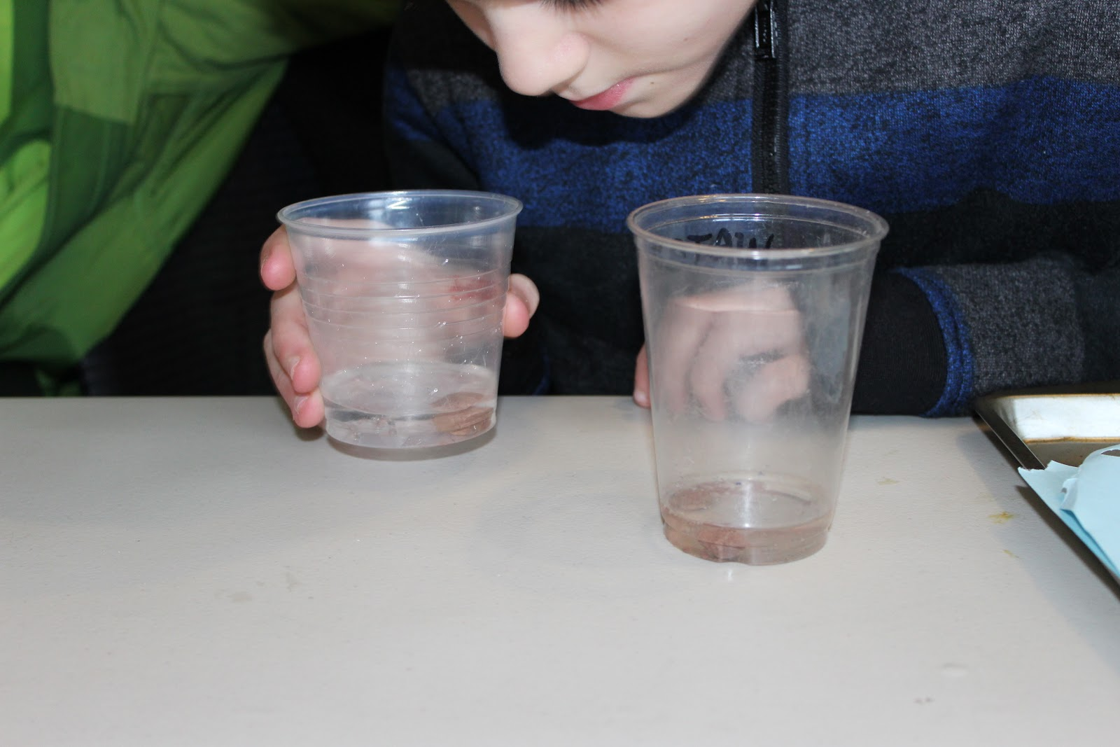 Observing chemical weathering changes during a lab