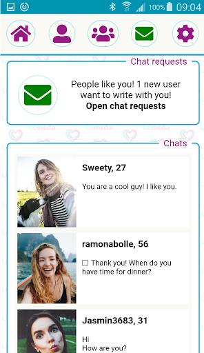 Free Dating App & Single Flirt Chat Meet by Lomeda 1.3 screenshots 4