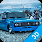Russian Car Lada 3D