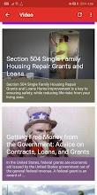 Grants and Loans screenshot thumbnail