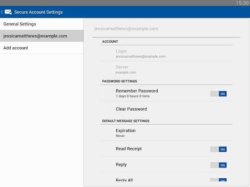 Business Class Email (BCE) screenshot 9