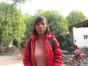 """Photo: """"Ms.Bùi Thị Kim Liên 1. Số hiệu(ID member): 15011887 2. Tuổi(Age): 3. Địa chỉ(Address): Cụm 30 - Thôn Liên Bình - TT Hợp Hòa,Tam Duong District, Vinh Phuc province, Vietnam. 4. Thông tin gia đình(Household's information): TV làm công ty, chăn nuôi gà lợn (Member works for a company and breeds pigs and chickens) 5. Ngày vay(Date of loan): 01-01-2015 6. Mức vay(Loan size): 6.000.000đ 7. Mục đích vay(Loan purpose): Chăn nuôi/livestock farming"""""""