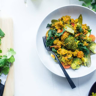 Vegetable Slow Cooker Quinoa with Golden Milk Recipe