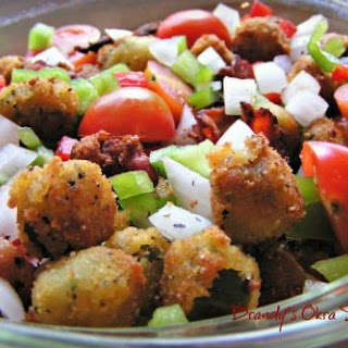 Brandy's Okra Salad