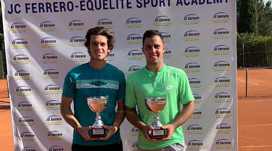 Benjamín Winter, campeón en dobles en el ITF Ferrero World Tennis Tour