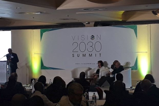 The Vision 2030 Summit is being held at Emperors Palace.