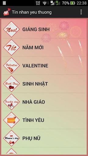 Tin nhan yeu thuong - cute sms