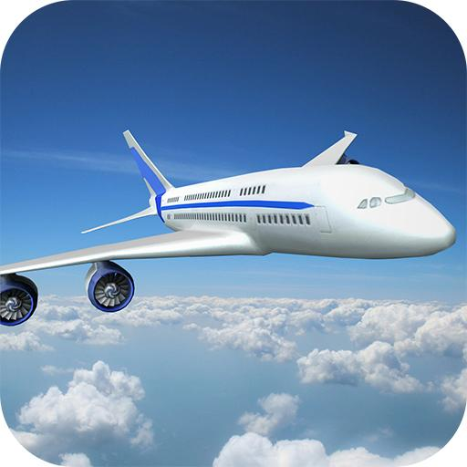 Airplane Flight Flying Game 3D
