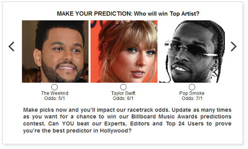Are Taylor Swift, Pop Smoke, and BTS locks to win these top Billboard Music Awards categories?