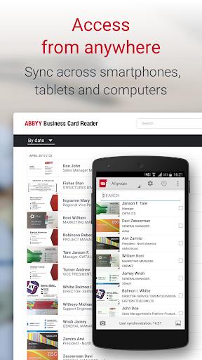 Business Card Reader Pro - Business Card Scanner  screenshots 5