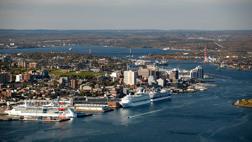 halifax-waterfront-aerial2.jpg - An aerial view of the Halifax waterfront.