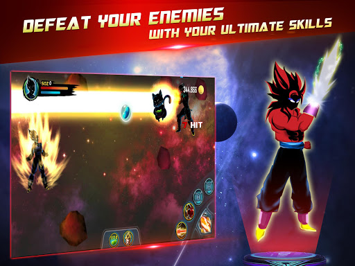 Dragon Battle Legend: Super Hero Shadow Warriors 3.0 screenshots 9