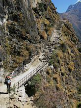 Photo: Stairs above Khumjung