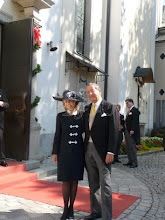 Photo: the grooms parents Fürst Alexander and Fürstin Gabriela zu Sayn-Wittgenstein-Sayn