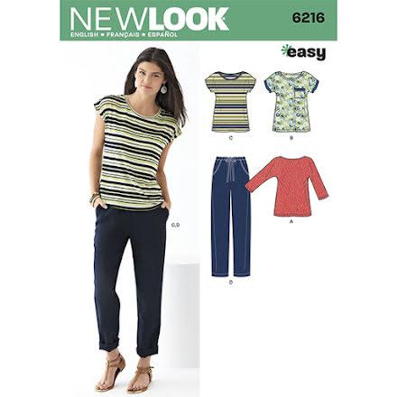 T-shirt, linne och byxor New Look 6216