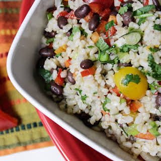 Mexican Rice Salad.