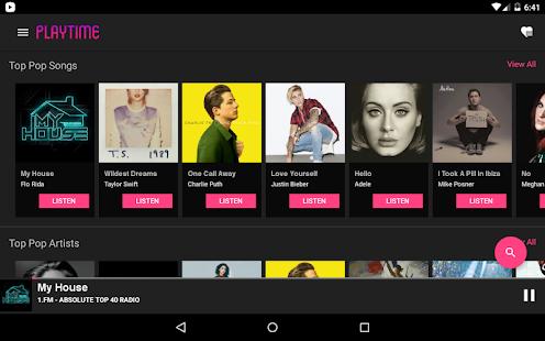 PlayTime Radio & Music Screenshot 12