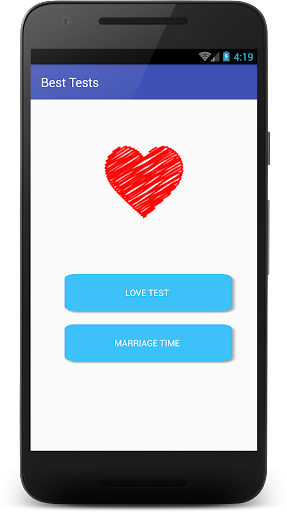 Love Test and Marriage Time