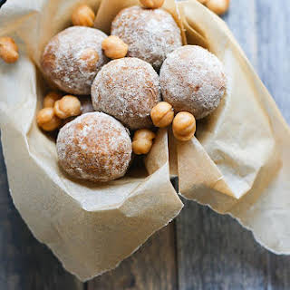 Salted Caramel Snickerdoodle Protein Balls.
