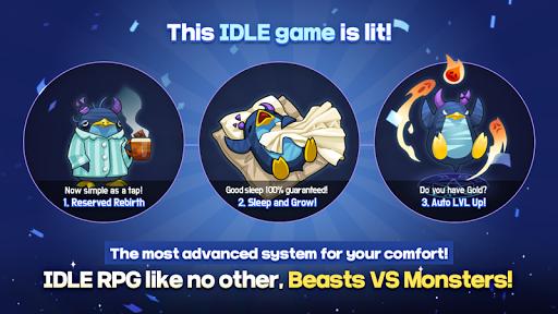 BEASTS VS MONSTERS - Idle RPG  captures d'écran 1