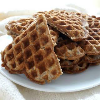 Vegan Buckwheat Waffles.