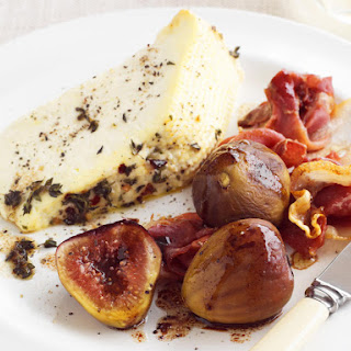 Baked Ricotta with Figs and Prosciutto