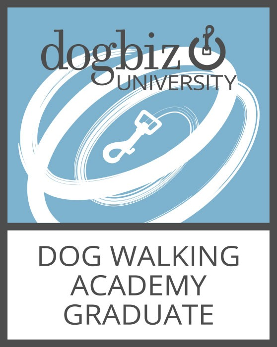 Dog Walking Academy Graduate