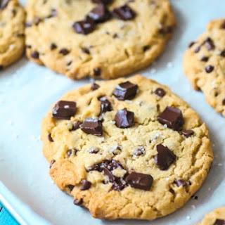 Chocolate Chunk Cookies with Sea Salt.