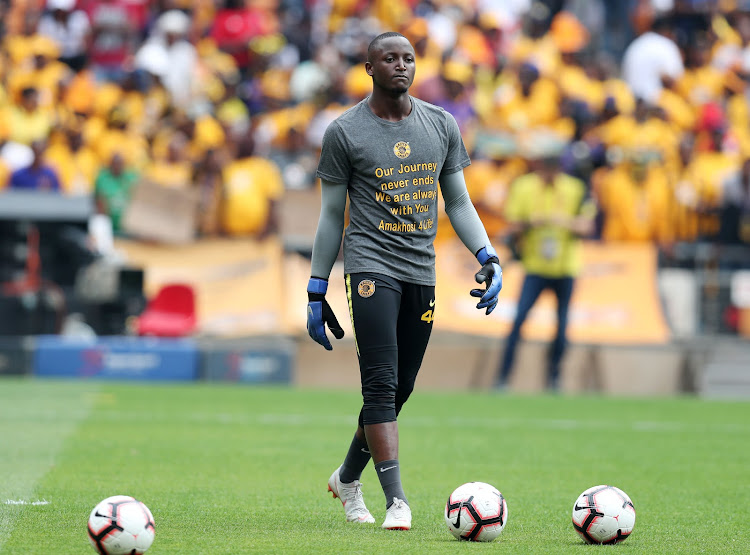 Kaizer Chiefs goalkeeper Bruce Bvuma has made it into Stuart Baxter's Bafana Bafana squad.