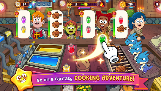 Potion Punch 2: Fantasy Cooking Adventures Apk Mod (Dinheiro Infinito) 1