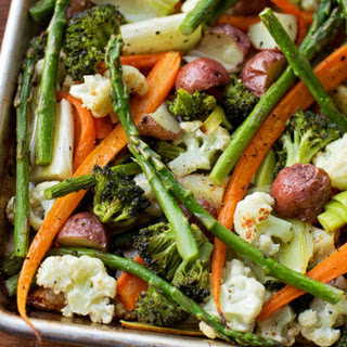 Roasted Spring Vegetables