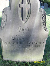 Photo: 32-Mary, wife of Edward Henry Page, died April 21st 1869, aged 36 years