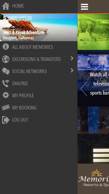 Memories Resorts - Free Calls- screenshot