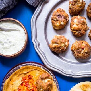 Chipotle Hummus Meatballs