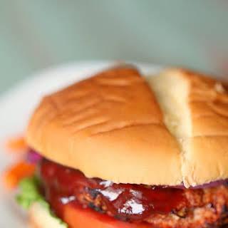 BBQ Turkey Burgers.