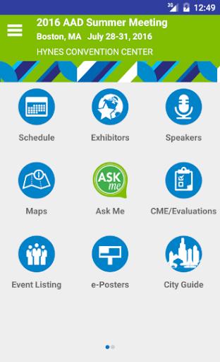免費下載醫療APP|AAD Meetings app開箱文|APP開箱王