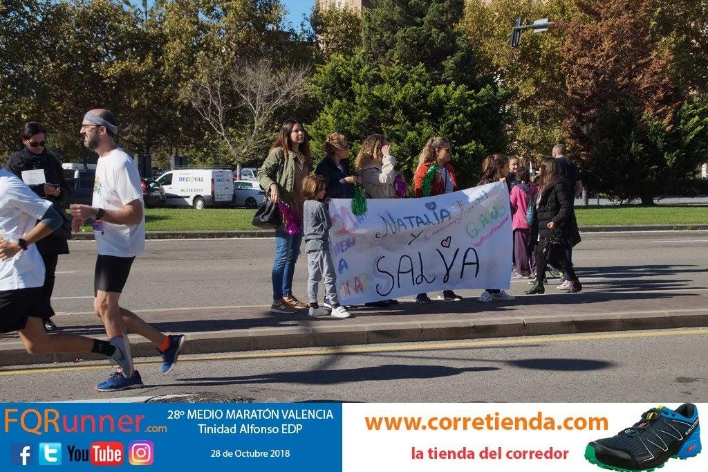 Media Maratón Valencia 2018:  NI UN KM SIN ÁNIMOS