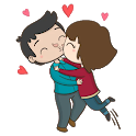 Kisses stickers for Whatsapp - WAStickerApps icon