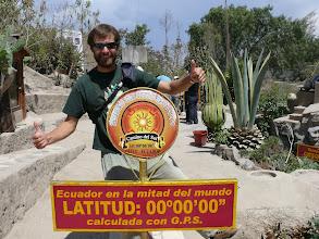 Photo: Ecuador, Mitad del Mundo