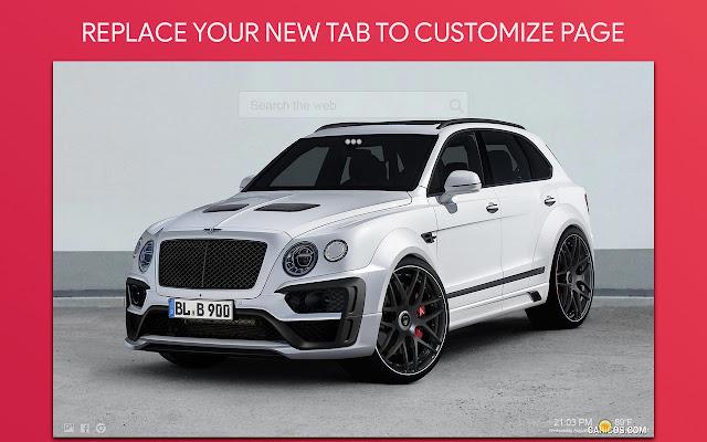 Bentley Wallpaper HD Custom New Tab
