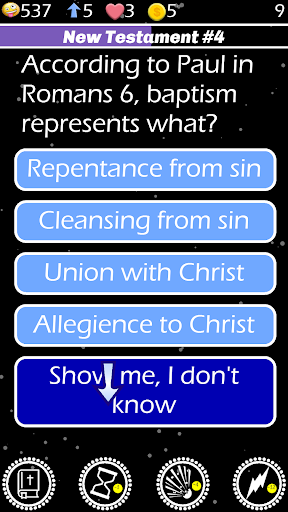 Bible Basics Trivia Quiz Spiel Screenshots 3