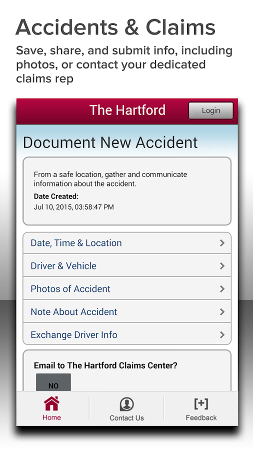 The Hartford Auto & Home- screenshot