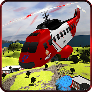 Fire Fighter Rescue Helicopter for PC and MAC
