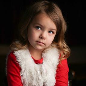 Innocent  by Cameron  Cleland - Babies & Children Child Portraits ( studio, girl, portrait )
